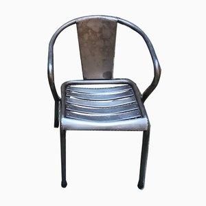 Chaise de Salle à Manger Modèle T5 de Tolix, années 40