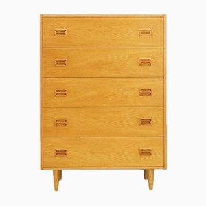 Mid-Century Danish Ash Veneer Dresser, 1960s