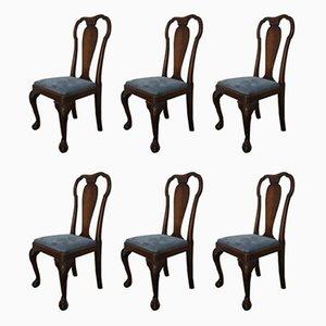 Antike Esszimmerstühle aus Mahagoni von Gouffé, 6er Set