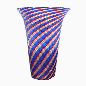 Vintage Glasvase von Paolo Venini für Murano, 1970er