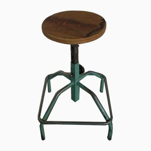 Mid-Century Italian Adjustable Stool, 1950s