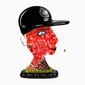 Rapper-Skulptur von Made Murano Glass, 2019