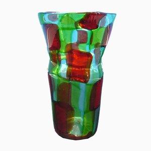Vintage Vase von Made Murano Glas