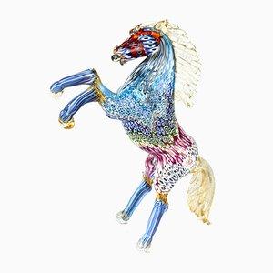 Escultura Horse M de cristal de Murano, 2019
