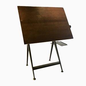 Mesa de dibujo de Friso Kramer para Ahrend De Cirkel, años 70