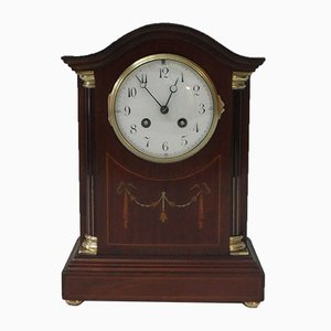 Antique Mahogany Clock from Japy Freres, 1900s
