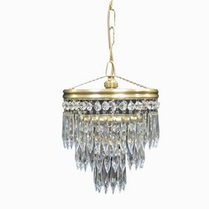 Art Deco Italian Chandelier, 1930s