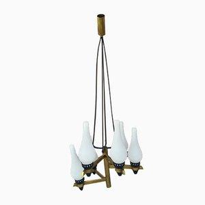 Lámpara de techo de Stilnovo, años 50