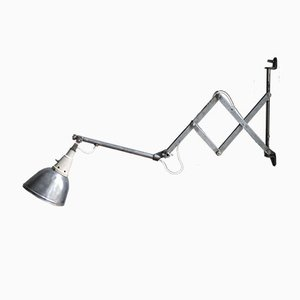 Model 110 Scissor Wall Lamp by Curt Fischer for Midgard, 1930s
