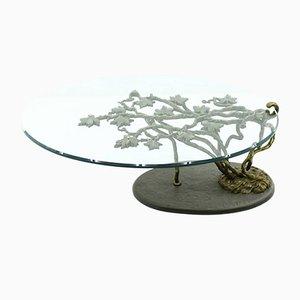 Couchtisch aus Bronze & Glass, 1960er