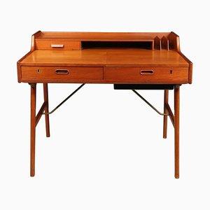 Modell 65 Schreibtisch aus Teak, 1960er