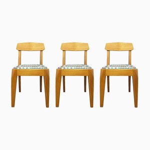Anthroposophical Cherry Dining Chairs by Siegfried Pütz, 1920s, Set of 3