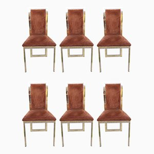 Italian Dining Chairs by Romeo Rega, 1970s, Set of 6