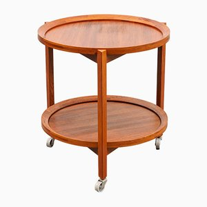 Mid-Century Teak Trolley from Sika Møbler, 1960s