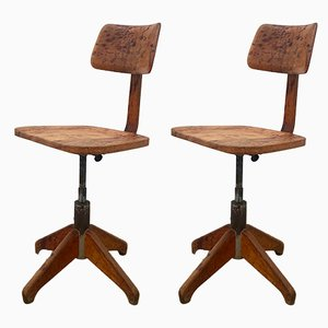 Swivel Stools by Stoll Giroflex for Stoll Giroflex, 1950s, Set of 2