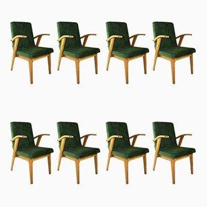 Vintage Sessel von Mieczyslaw Puchala, 1970er, 8er Set