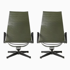 EA125 Lounge Chairs by Charles & Ray Eames for Herman Miller, 1970s, Set of 2