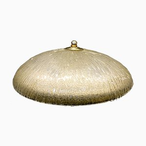 Lampada da soffitto in vetro di Murano di Italamp, anni '70