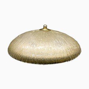 Lámpara de techo de cristal de Murano de Italamp, años 70