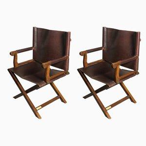 Chaises Pliantes de Grange, 1990s, Set de 2