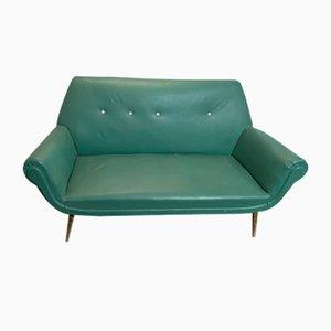 Mid-Century Italian Vinyl Sofa, 1950s