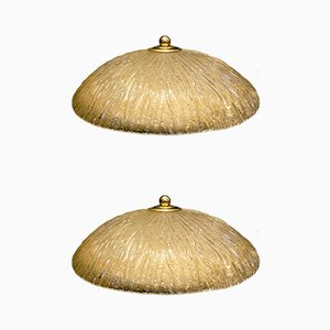 Ceiling Lamps from Italamp, 1970s, Set of 2