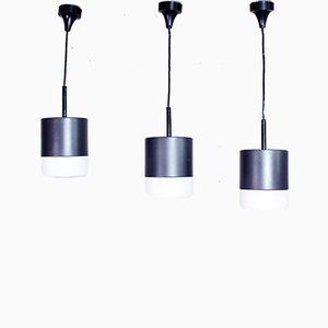 Lampade da soffitto di Staff, anni '70, set di 3