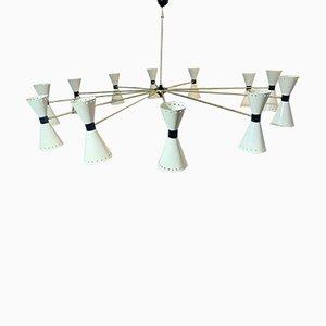 Mid-Century Italian Ceiling Lamp