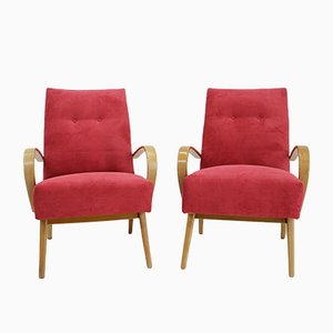 Armchairs by Jaroslav Smidek for Jitona, 1960s, Set of 2