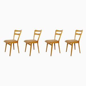 Mid-Century Dining Chairs, 1960s, Set of 4