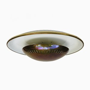Brass Ceiling Lamp from Kaiser-Leuchten, 1950s