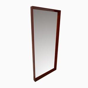 Danish Teak Mirror by Pedersen & Hansen for Viby j., 1960s