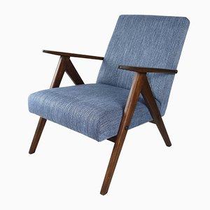Blauer Vintage Var Sessel, 1970er