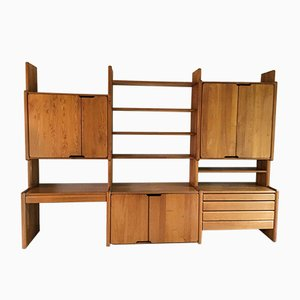 Modular Wall Unit by Pierre Chapo for Seltz, 1980s