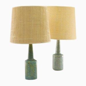 DL / 21 Tischlampen von Per Linnemann-Schmidt für Palshus, 1960er, 2er Set