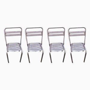 Dining Chairs by Tolix for Tolix, 1940s, Set of 4