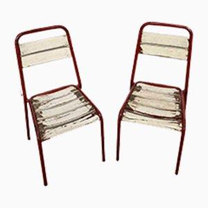 Chaises d'Appoint Mid-Century, Set de 2