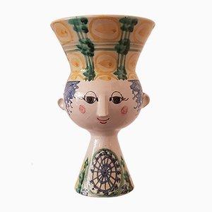 Vase par Bjørn Wiinblad pour Bjorn Wiinblad, 1981