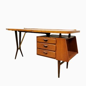 Mid-Century Dutch Desk by Louis van Teeffelen for Artifort, 1960s