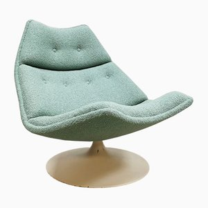 Vintage Model F511 Swivel Chair by Geoffrey Harcourt for Artifort, 1960s