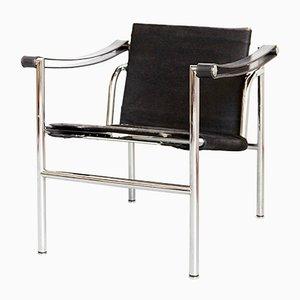 LV1 Armlehnstuhl von Le Corbusier für Cassina, 1980er