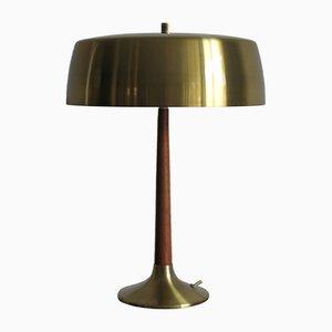 Lámpara de mesa de Aage Holm Sørensen para Holm Sørensen & Co, años 50