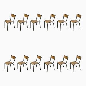 Antike Esszimmerstühle, 12er Set