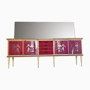 Sideboard von Umberto Mascagni, 1950er