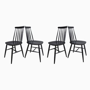 Dining Chairs by Ilmari Tapiovaara for Pastoe, 1950s, Set of 4