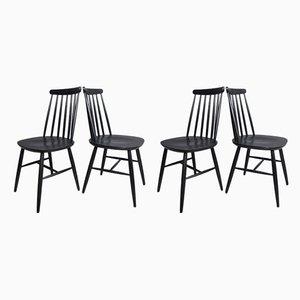 Esszimmerstühle von Ilmari Tapiovaara für Pastoe, 1950er, 4er Set