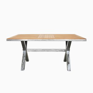 Steel & Oak Dining Table from Atelier Borella