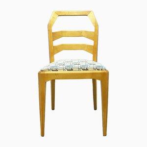 Chaise de Salon Vintage en Laiton par Felix Kayser pour Schiller Möbel