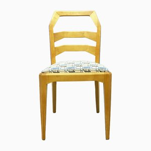 Vintage Limewood Anthroposophical Dining Chair by Felix Kayser for Schiller Möbel