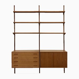 Large Wall Unit by Kai Kristiansen for Feldballes Møbelfabrik, 1960s